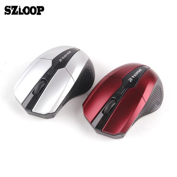 2.4 Г Беспроводная Мышь Оптическая для Ноутбука USB Оптическая Мышь игровая игра Mause 2000DPI МИНИ компьютерные мыши Мыши для ноутбука ПК