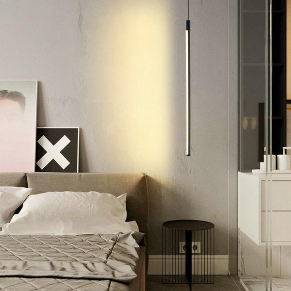 Acquista Lampade A Sospensione A Sospensione Sospese Moderne A LED Neri  Camera Da Letto Soggiorno Nordic Decorativo La Casa A $100.31 Dal  Dpgkevinfan ...