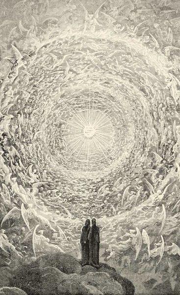 Dante's The Divine Comedy illustrated Gustave Doré Art Silk Print Poster 24x36inch(60x90cm) 089
