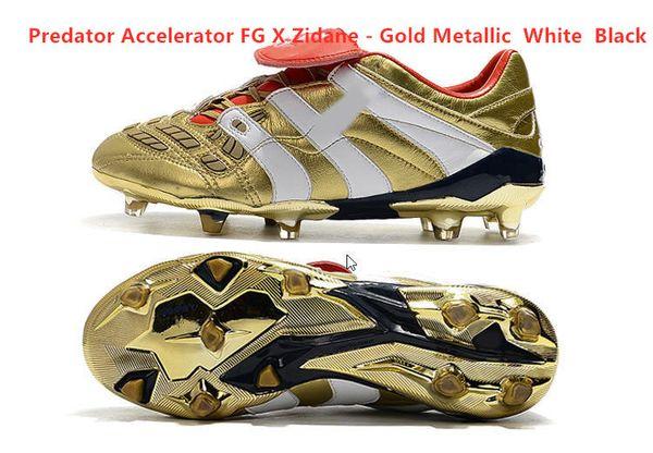 FG X Zidane - Altın Metalik Beyaz Blac