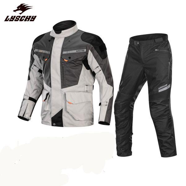 Brand New Waterproof 3 in 1 Detachable Oxford Cloth Motorcycle Jacket Motocross Road Racing Riding Multifunction Jacket Jaqueta Motoqueiro