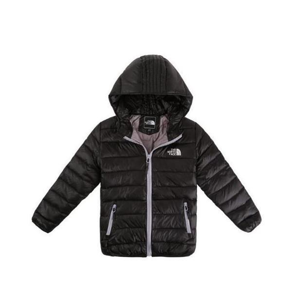 Bebek Erkek Ceket mont Kış Ceket Kızlar Için Ceket Çocuklar Sıcak Kapüşonlu Saf Renk Bebek Erkek Ceket Çocuk Giyim Giysi 0022