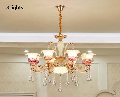 8 lights