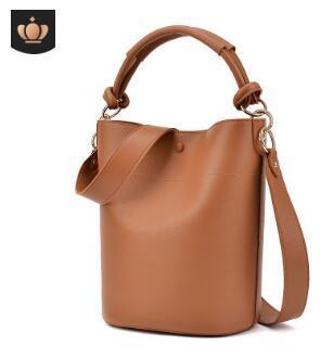 2019 new European and American fashion handbag cross grain leather single shoulder bag women's shopping bag autumn women's bagAA6