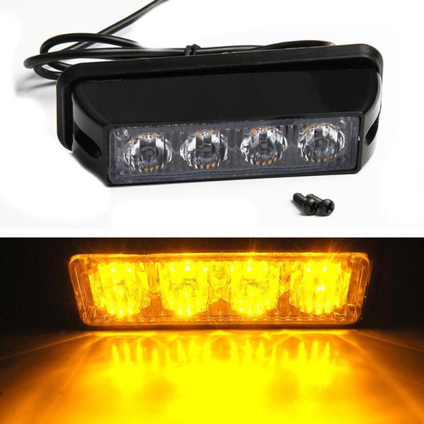 Hi-Power 12 LED Emergency Hazard Warning Strobe Flash Caution Beacon Light Bar