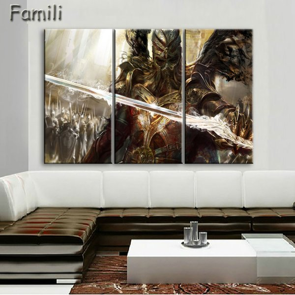 3pcs large HD printed oil painting Angel Girl canvas print art home decor idea wall art pictures for living room