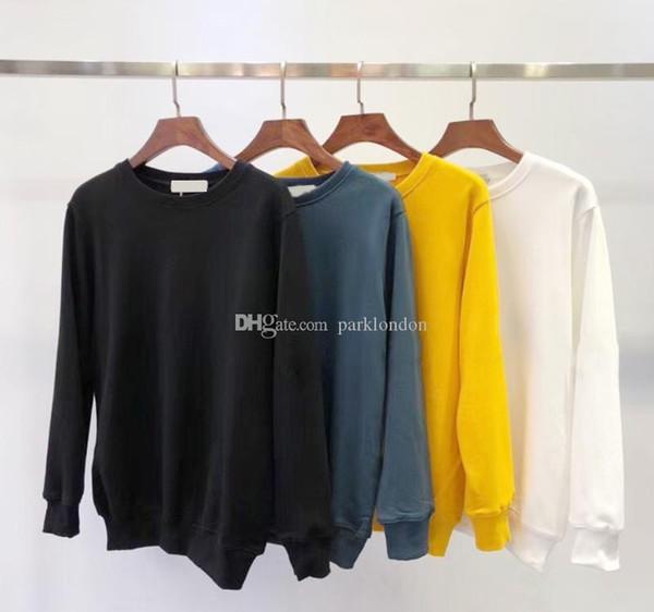 Новая мода осень зима Мужчины 108 с длинным рукавом Толстовка Hip Hop фуфайки пальто вскользь одежды свитер свитер S-2XL # 81160