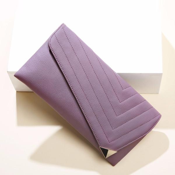 Le più nuove pochette di pelle di vacchetta per le donne 2018 braccialetti di sera della borsa del messaggero della catena di modo del cuoio genuino delle marche famose
