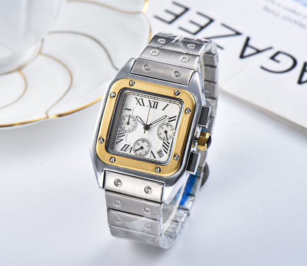 best selling 2019 military sports Men's or womenes watches, Small needle seconds,