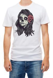 Mexikanische Frau Neu vom Tod Männer 039 s Kurzes sNewve T-Shirt