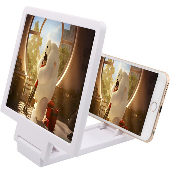 3D Mobile Phones Zoom Magnify glass Magnif Movie Amplifier 3X Zoom Enlarged Phone Screen Video Amplifier Radiation Eye desk magnifier