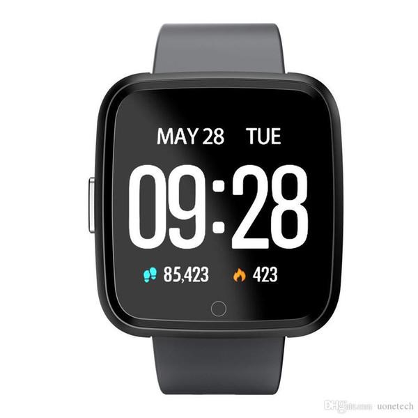 Apple iPhone Y7 intelligent Fitness montre intelligente Sport Oxygen Blood Pressure Tracker montre moniteur de fréquence cardiaque ionique Versa Wristband