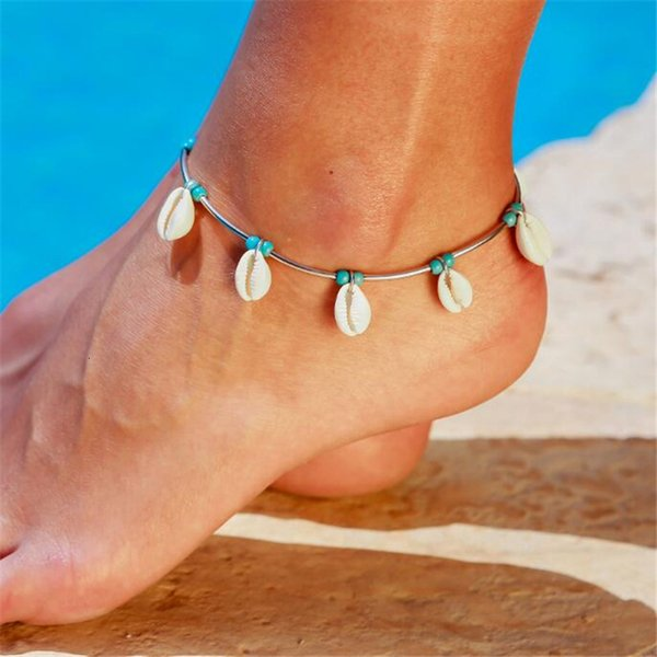 Shell Jewelry Accessories Pine Shi Beike Anklet Woman Personality Originality Sandy Beach Anklet pearl earrings, piercing,Pandora charms,summer sundress women,shell jewelry,abalone shell jewelry,sea shell jewelry,shell jewelry set,shell jewelry diy,cowrie shell jewelry,conch shell jewelry,women shell jewelry sets