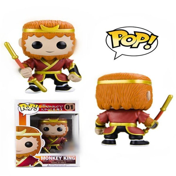low price 2019 new Funko pop monkey king 01 Amine Vinyl Action Figure Collectible Model Toy for kids gift