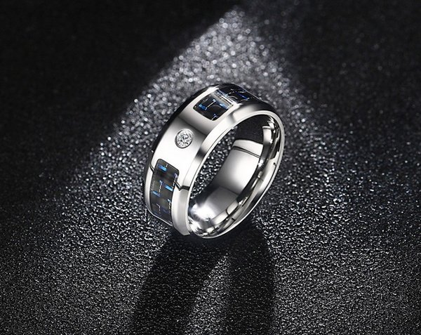 bague homme stainless steel