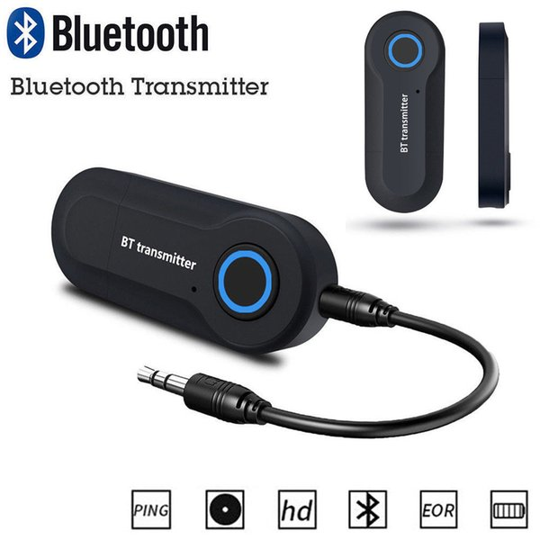 Trasmettitore wireless Bluetooth Musica stereo Adattatore audio da 3,5 mm per auto GPS Elettronica TV Telefono PC Accessori GPS