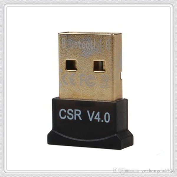 Mini USB Bluetooth 4.0 Adaptörü Kablosuz Dongle CSR 4.0 Bilgisayar PC Laptop için yüksek hız ile Toptan