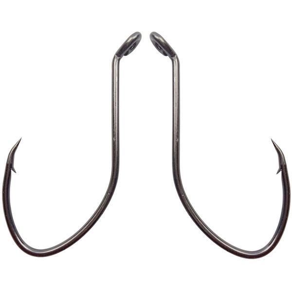 Fishing Fishhooks 180pcs 8832 High Carbon Steel Fishing Hooks Black Wide Gap Catfish Bait Fishhooks Size 1 4 6 8 10 1/0