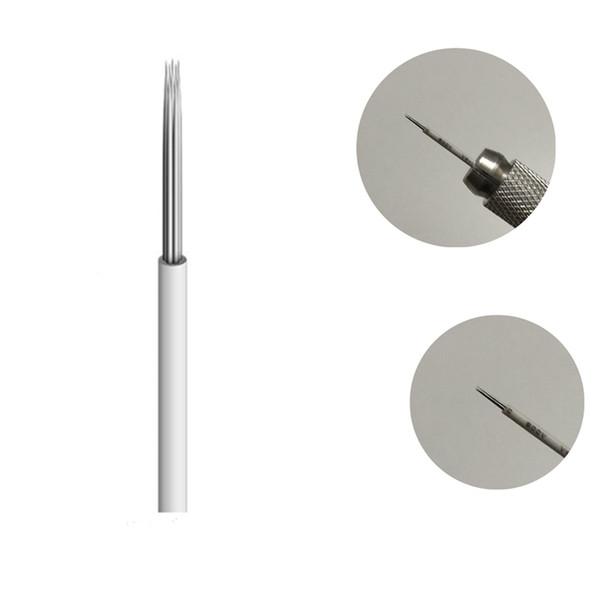 50pcs/lot R5 Round Needles Microblading Tebori round Needles Manual Needle for Fog Eyebrow Blade fog for Permanent Makeup for free shopping