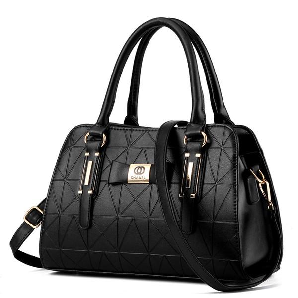 Borse di lusso Borse donna Designer Fashion Crossbody Bag per le donne Handbag Ladies Patchwork Soft PU Leather 2018 Tote Bag bolso