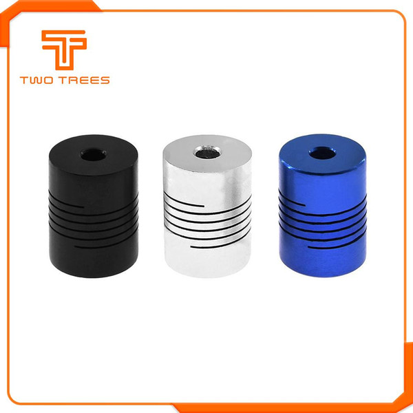 Wholesale flexible couplings for motors for sale - Group buy Cheap D Printer Parts Accessories CNC Motor Jaw Shaft Coupler To mm Flexible Coupling OD x25mm Dropshipping For CR10