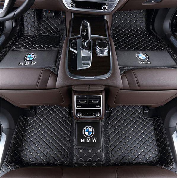 Para a BMW Série 1 O hatchback tem quatro portas. 2007-2018 stitchingall rodeado por tapete não-tóxico ambientalmente amigável