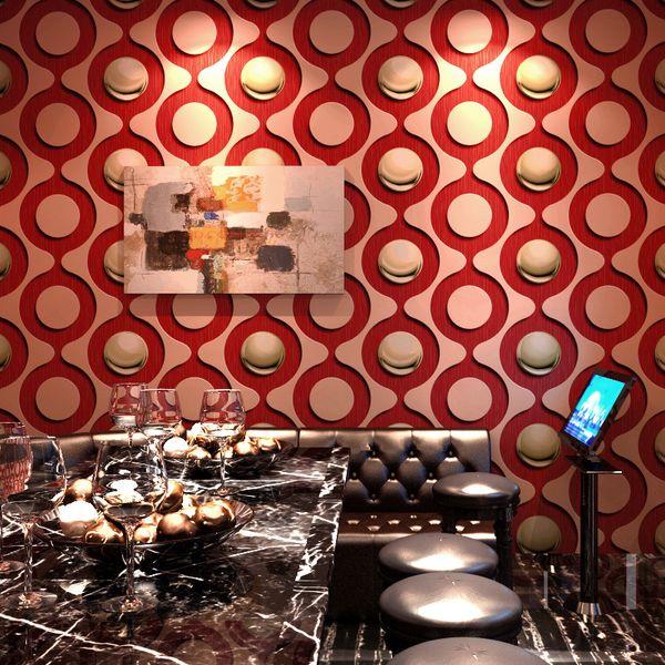3D stereo personality fashion wallpaper KTV PVC washable flash wall covering bar hotel fancy ballroom box theme room wallpaper