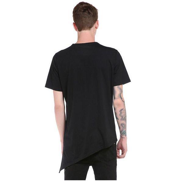 2019 classic casual men's short-sleeved t-shirt hot summer