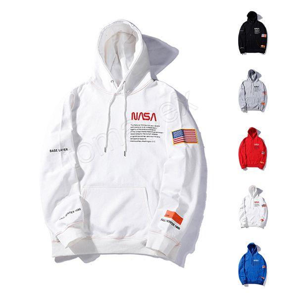 best selling Wholesale American and European Hipster Heron Preston x NASA Designer Hoodie Youthful Popularity Mens Designer Clothing Leisure Sweatshirt