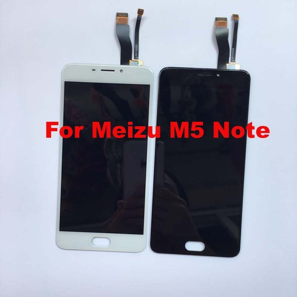 Meizu Için 100% Test m5 not M621Q M621M M621C M621H / Meilan Not 5 LCD Ekran + Dokunmatik Ekran Digitizer Meclisi Değiştirme