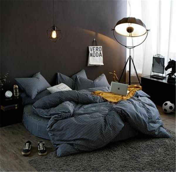 Round Bed Four-piece Set Quilt Cover Set 2.0m 2.2m Diameter Round Bed Bedding Sets All Cotton New Bedding Supplies