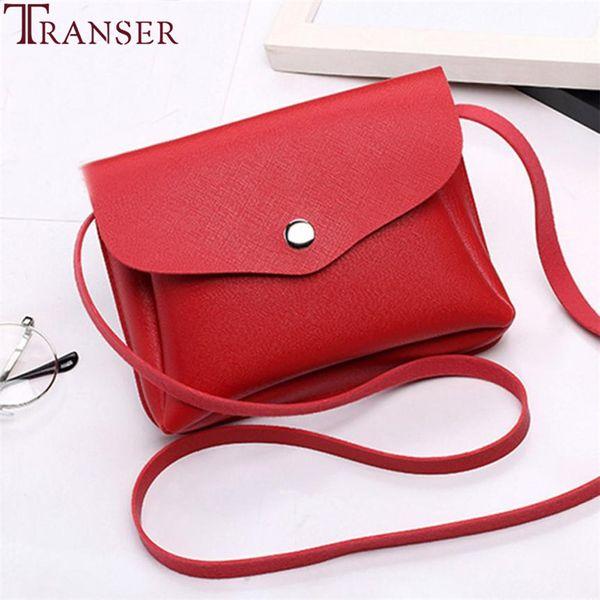 Cheap Transer 2018 Fashion Pure color Women Leather Handbag Crossbody Shoulder Messenger Phone Coin Bag A17 35