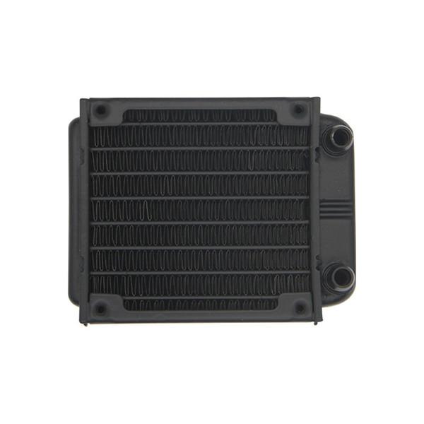 80mm Aluminum Radiator Water Cooling Cooler for CPU Heatsink Computer PC fans