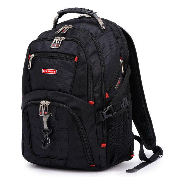 "Brand Swiss Laptop 15"" Backpack External Swiss Computer Backpacks Anti-theft Backpack Waterproof Bags For Men Women Backpack Y19061102"