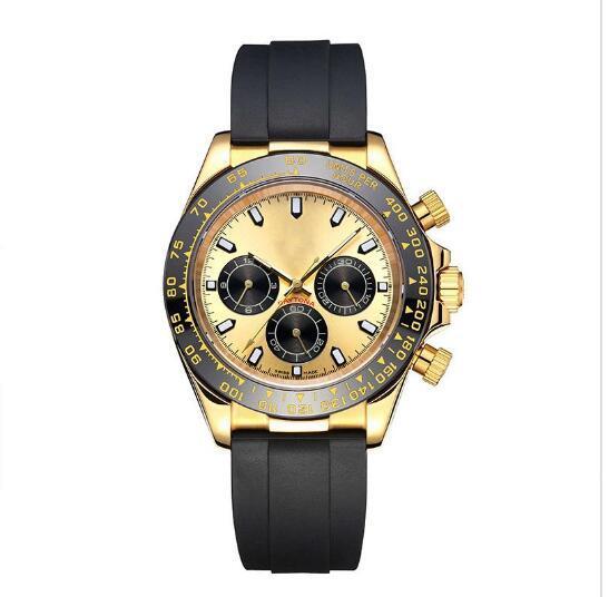 2019 Venta caliente Relojes para hombre Reloj de movimiento mecánico automático Reloj de pulsera deportivo para hombre de acero dorado y plateado Envío gratis