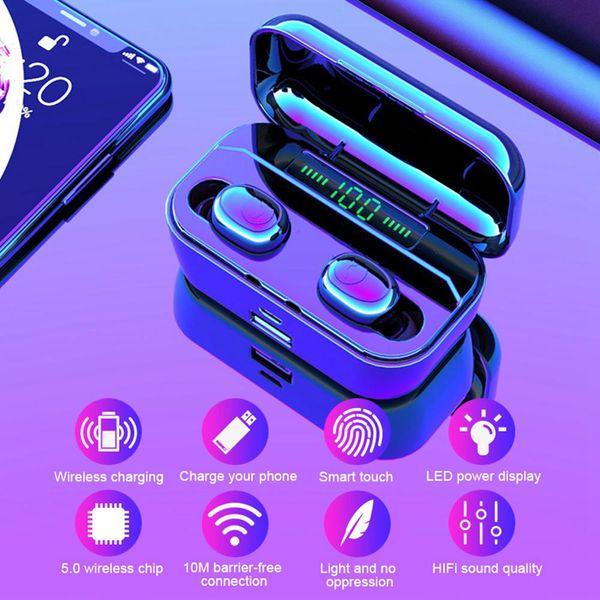 Bluetooth Earphone G6s TWS Wireless Headphone With 3500mAh Power Bank Bluetooth V5.0 LED Display Headset IPX7 Waterproof