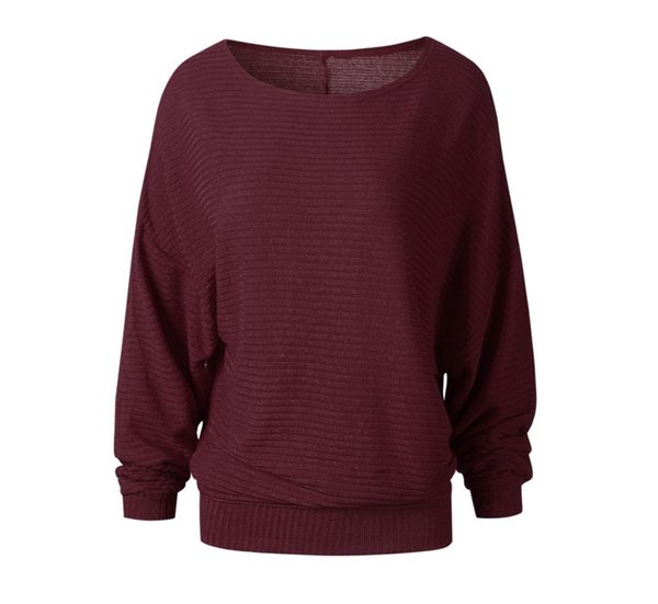 weibliche Damen pullover lose Wollpullover Sterne Hoodie Casual Sweater