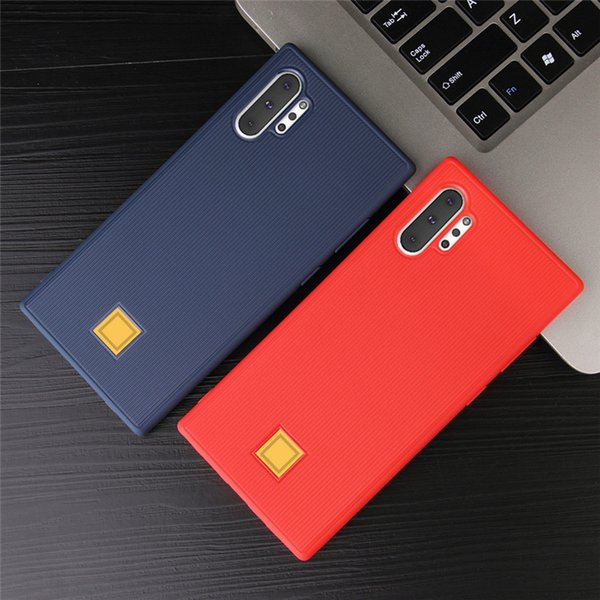 Stripe Design Shockproof TPU Cell Phone Cases For Samsung Galaxy Note 10 S10 One Plus 7 Huawei P30 Pro Iphone XS Mobile Case