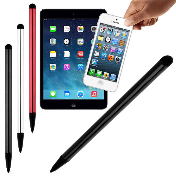 Universal 2 in 1 resistiven kapazitiven Stylus Stift Touchscreen Metall für iPhone iPad Samsung Tablet Smartphone GPS NDS Game Player STY161
