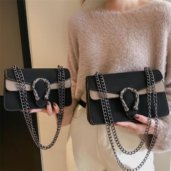 Wool Crossbody Bags For Women 2019 Luxury Handbags Women Bags Designer High Quality Chains Purses And Handbags Sac A Main