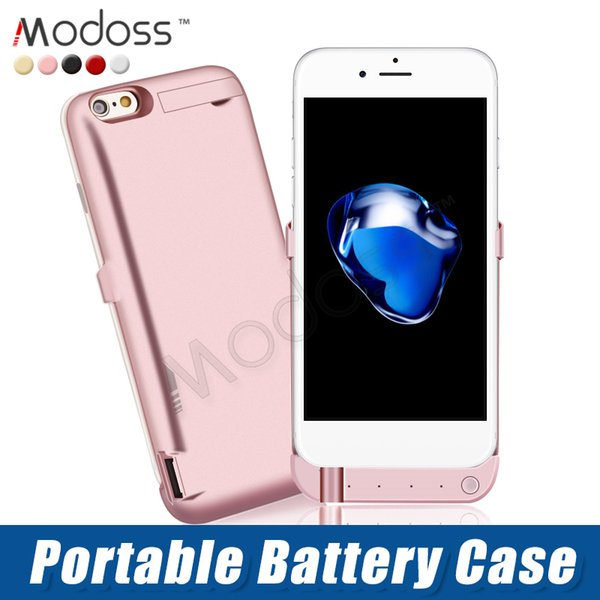 ZZYD For iP 6 7 8 plus Cell Phone 6000 mAh External Power Bank Charger Case Mobile Phone Backup Battery Case