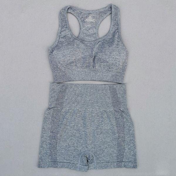 Conjunto azul gris