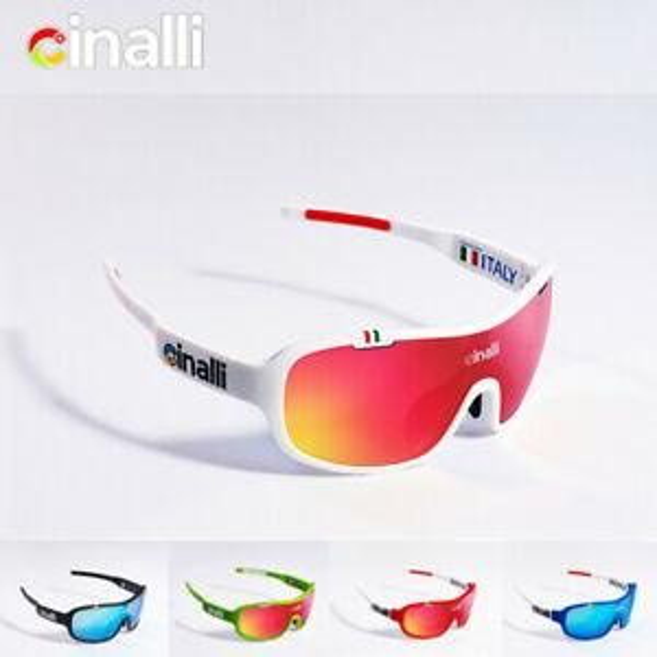 Lunettes de soleil Cinalli TR90 Frame Eyewear Lunettes de vélo Racing Lunettes de sport en plein air