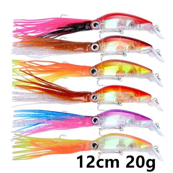 12cm 20g 1/0# hook