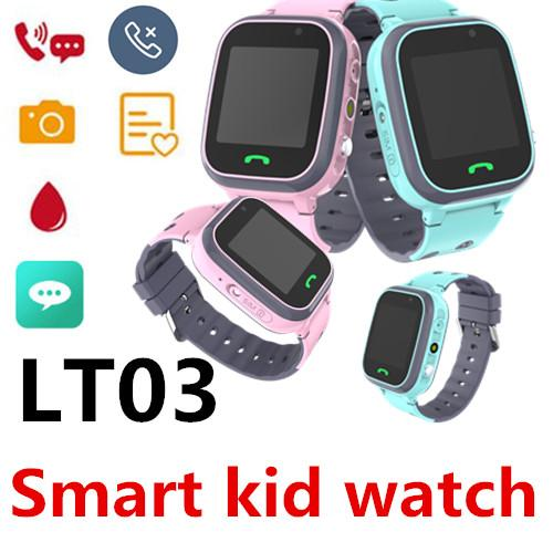 LT03 Children Smart Call Watch full Netcom waterproof LBS base station positioning remote monitoring SOS dual camera Support card smart band