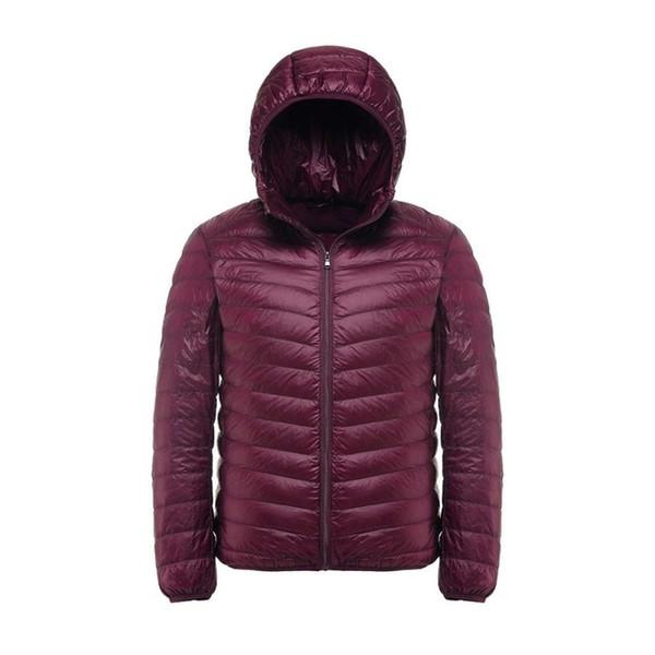 2019 New Casual Brand White Duck Down Jacket Men Autumn Winter Warm Coat Men\'s Ultralight Duck Down Jacket Male Windproof Parka