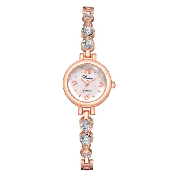 2019 Bracelet Watch Ladies Minimalist Stainless Steel Analog Quartz Wristwatch Women Female Dress Watches Charming Clock
