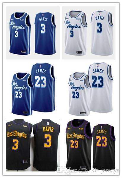 2019 31 Los Angeleslakers 23 Lebron James 3 Anthony Davis Men S 2019 20 Classic Cityedition Retronba Basketball Jersey From Jerseyptb20 25 23