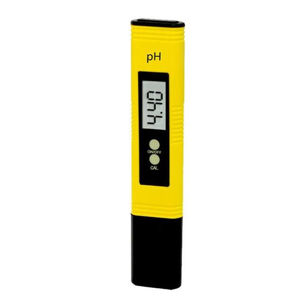 All'ingrosso-Super Taotown protable giallo digitale pH tester Tester stagno piscina acqua vino urina LCD Monitor della penna Taotown Freeshipping