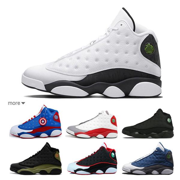02fbbe291f08 Cheap mens basketball shoes classic j13 Oak hill high school sport comfortable  shoes With Original Box